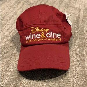 NWT 2016 runDisney running hat Wine & Dine